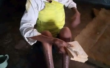 Lady Accused Of Witchcraft And Caged For 3 Years By Her Husband In Delta State