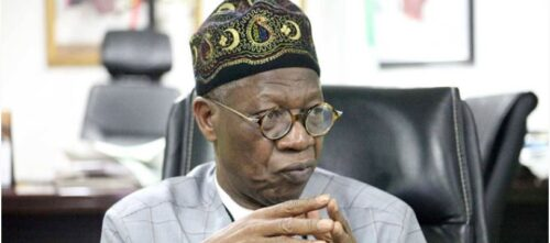 Nigeria Senate Tackles Lai Mohammed Over N250m Project