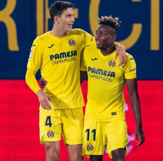 Nigeria international Samuel Chukwueze Praised by club Villareal fc as unstoppable After Netting First Goal Of Season