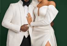 Nigerian comedian AY and his wife Mabel celebrate 12th wedding anniversary
