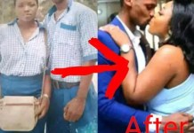Photos Of Couple Who Met In Secondary School Weds
