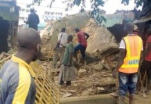 Photos Of Hisbah officials Demolishing Beer Parlours In Kaduna And Destroying Crates Of Drinks