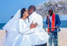 Two Young Medical Doctors Rhoda Ameh And Sunday Agbo Wedding At Lagos Beach