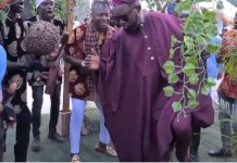 Video Of AY Dancing To Ogene Music At Williams Uchemba's Traditional Wedding