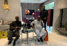 Video Of Atiku Abubakar Celebrating His 74th Birthday In His Dubai Home