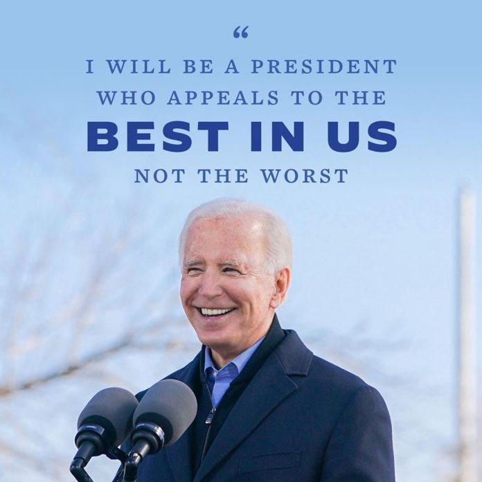 Video Of Biden Saying We Are On Track To Win The US Election