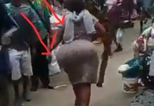 Video Of Curvy Broom Seller Advertises In Style And Causes Stir At The Market