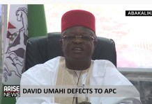 Video Of Ebonyi Governor Umahi Saying Wike Is A Dictator And He Is Remote-Controlling PDP