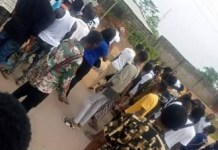 Video Of Ogun Institute Students Protesting the Death Of Schoolmate Rejected By School Clinic