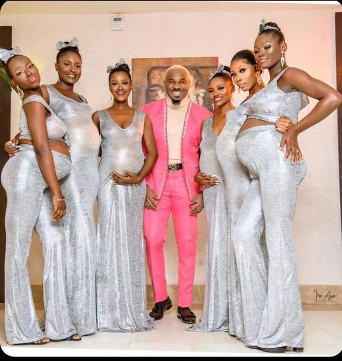 Video Of Pretty Mike Storming Williams Uchemba's Wedding With 6 Pregnant Women