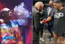Video Of Snoop Dogg Smoking Weed And Dropping Live Performance Ahead Of Mike Tyson's Comeback