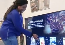 Video Of Son Pranking His Mother Tells Her That Their TV Is Touchscreen