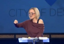Video Of Trump's Spiritual Advisor Paula White Praying And Saying Angels Are Coming From Africa.