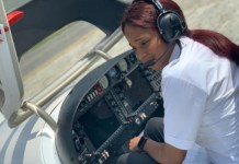 Men Declares Love For A Woman As She Becomes A licensed Private Pilot