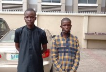 Nigerian Immigration officers Arrests A Cameroonian And A Beninore While Attempting To Write Immigration Exam