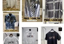 Video Of Davido Showing Off The 7 Shirts He Bought For N4.4 Million