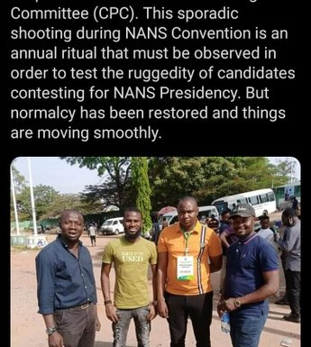 Video Of Heavy Gunshots As NANS Convention In Abuja Turns Bloody And Many Injured