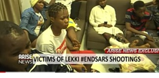Video Of Interviews With Victims Of The Lekki Shooting By ARISE News