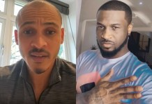 Video Of Osaze Odemwingie Apologizing To Peter Okoye And Mr P Reacts