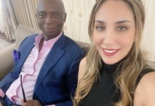 Businessman Ned Nwoko Celebrates His Morrocan Wife Laila, On Her 30th Birthday