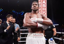 Coming towards the end of my career - Anthony Joshua To Retire In 5 Years