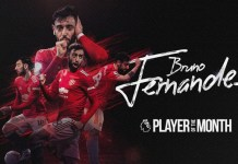 Man Utd Player Bruno Fernandes Wins Premier League's Player Of The Month For December