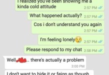 Screenshots Of Whatsapp Chat That Ended A 3-Year-Old Relationship