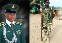The Court Martial Sitting In Maiduguri Sentences Trooper Azunna Maduabuchi To Death By Firing Squad