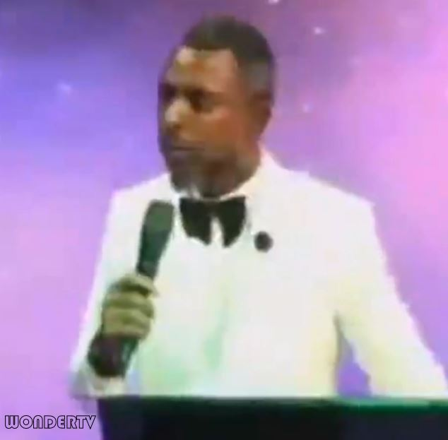 This Camera Is One Million Naira, If You Fall Under Anointing And Break Anything Here, You'll Pay - Pastor Warns Members (Video)
