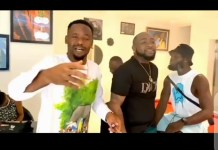 Video Of Davido And Zubby Michael Hanging Out Together In South Africa