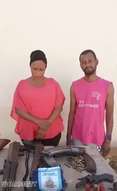 Video Of A Woman And Her Lover Ikechukwu John Caught During A Kidnap Operation