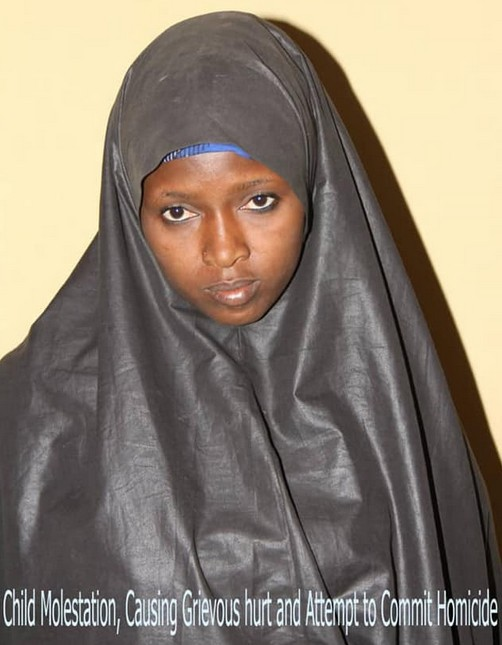 A Woman Aisha Abdullahi Gaide Beats Her 8-year-old Stepdaughter With Electric Wire In Bauchi