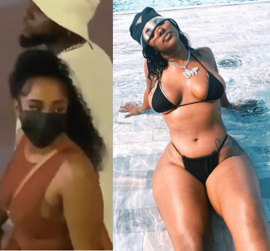 Hot photos of Mya Yafai, the model Davido was spotted holding hands with