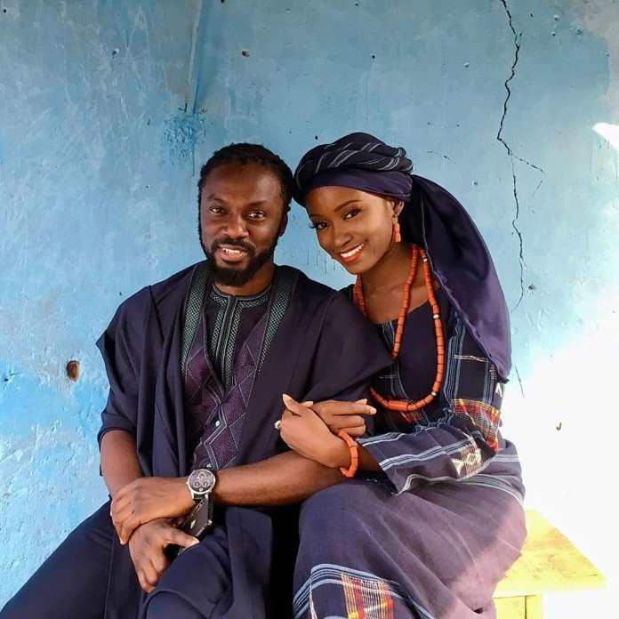 Photos Of A Nigerian Lady Who Married Her Ex-Corper Teacher Who Taught Her Geography In SS2