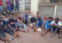 Photos Of Suspected Criminals Arrested By Police In Enugu State