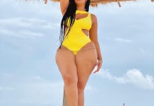 Actress Juliet Ibrahim shows off her curves in sexy swimwear photos