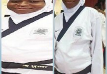 Eight Months Pregnant Athlete Aminat Idrees Wins Gold Medal In Taekwando At The National Sports Festival
