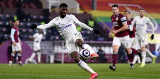 Nigerian Striker Kelechi Iheanacho Wins Leicester City March Goal Of The Month Award
