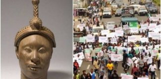 Video Of Oduduwa Republic Rally Holds In Abeokuta Despite Police Ban
