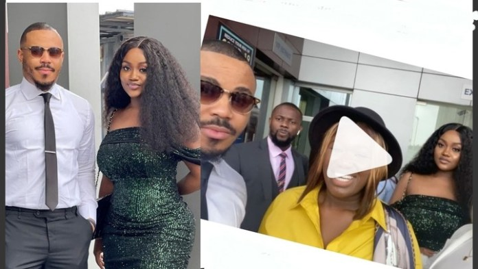 Bbnaija Ozo And Davido's ex, Chioma Rowland Spotted Together