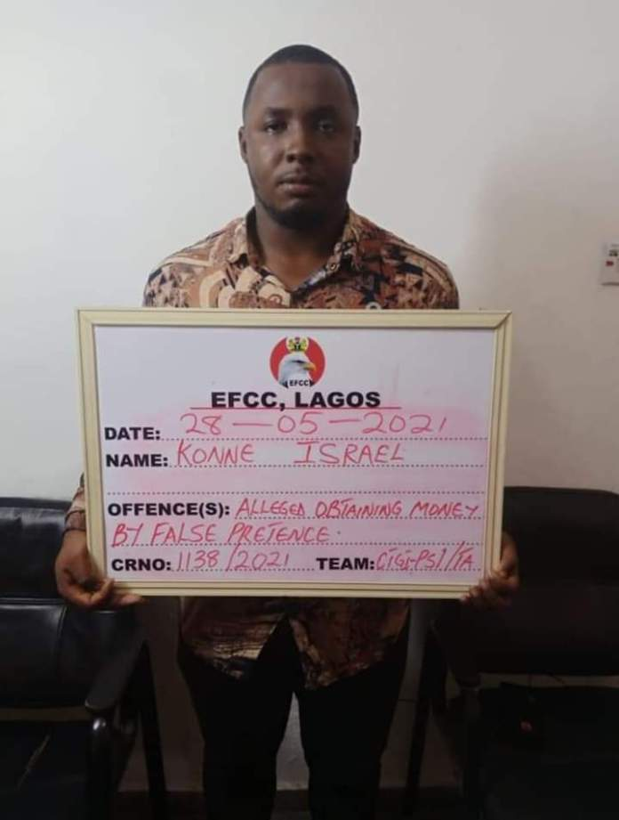 Two Suspected Fraudsters Arrested By EFCC For N768.5 Million Fraud In Lagos