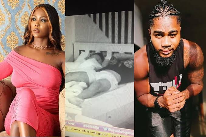 Video Of bbnaija Ka3na admitting She Had Sex With Praise Nelson But He Didn't Last 5 Seconds
