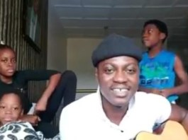 Video Of Sound Sultan Singing With His Children During The Last Father's Day