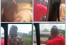 Video Of Nigerian Police Brutalizing And Forcing A Student In Okene To Withdraw N25K At POS