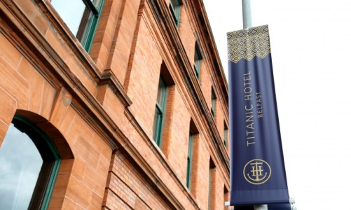 Now Open; The Luxury Titanic Hotel, Belfast