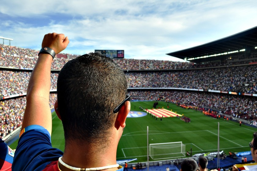 Watch a Barcelona FC match for your stag do