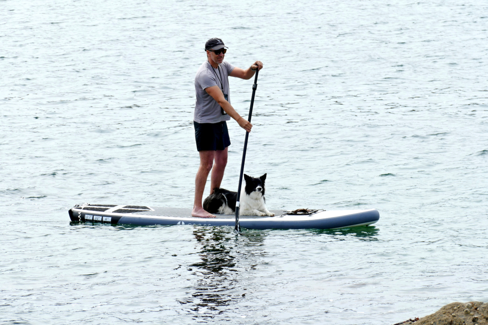 Stand up paddle boarding is a cool solo sport