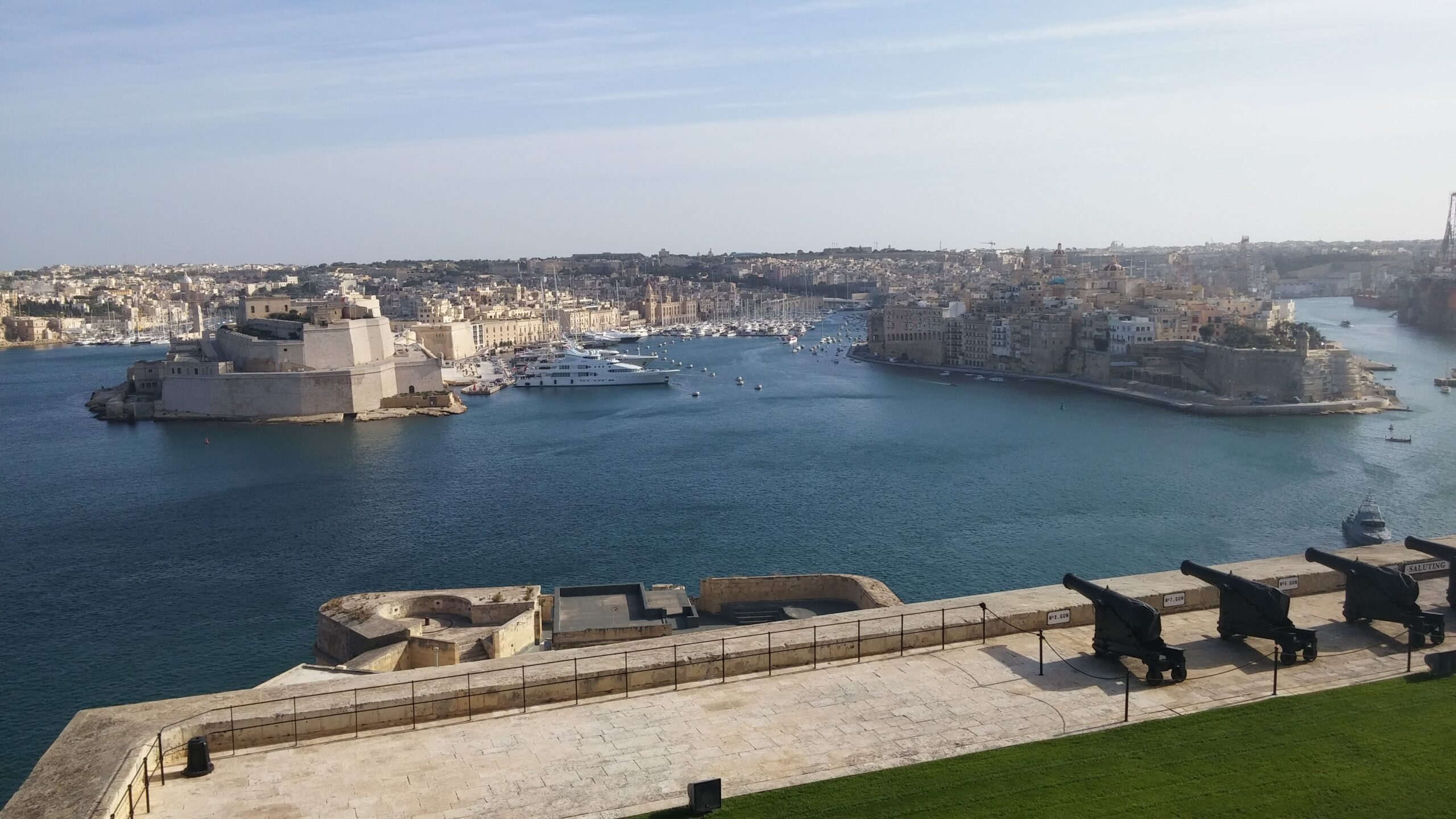 Valletta the capital of Malta offers some beautiful scenery