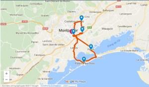 parcours marathon montpellier 2017