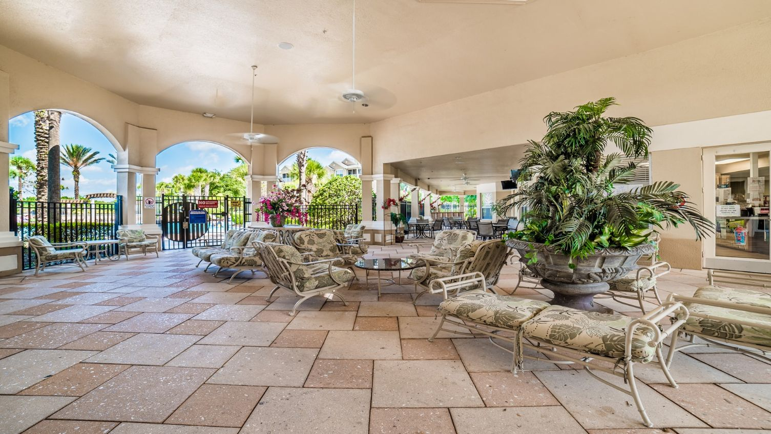 windsor hills resort outdoor lounge and seating